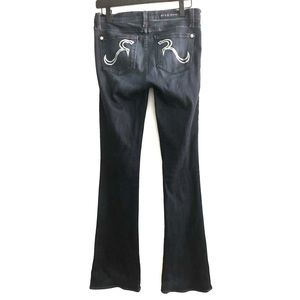 Rock and Republic Flared Blue Jeans | 27
